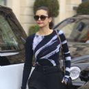 Nina Dobrev is Stylish – Leaving the Ritz Hotel in Paris 03/05/2019