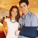 Ginger Zee and Ben Aaron