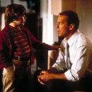Spencer Breslin and Bruce Willis in Disney's The Kid - 2000