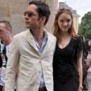 Lily Cole And Enrique Murciano - Christian Dior Paris Fashion Show F/W On July 5, 2010 - 279 x 600