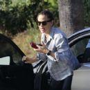 Jennifer Garner – Hits the gym in Palisades