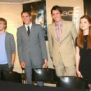 Bonnie Wright - Also Pictured - Tom Felton, And James And Oliver Phelps