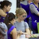 Ashley Greene spotted getting her manicure on at a salon in Beverly Hills, California on April 22, 2017 - 454 x 545