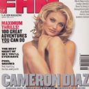 Cameron Diaz - FHM Magazine Cover [United Kingdom] (August 1995)
