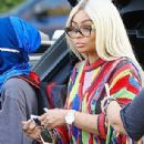 Blac Chyna and Tyga Throw King Cairo a 5th Birthday Party at Six Flags Magic Mountain in Los Angeles, California - October 14, 2017 - 306 x 638