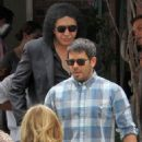 Gene Simmons & Eli Roth gets lunch