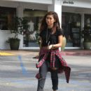 Brenda Song – Seen outside SHU Sushi House in LA