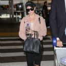 Brittany Snow – Arriving at LAX Airport in Los Angeles