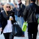 Dakota Fanning soaked up the sunshine while out in Manhattan, February 28. The actress was seen strolling through the SoHo neighborhood with a soda