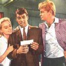 Diane McBain,Van Williams & Troy Donahue in Surfside 6 - 454 x 356