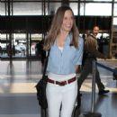 Hilary Swank Lax Airport In La
