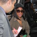 Taraji P. Henson Is Seen at LAX
