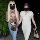 Noah Cyrus and Tana Mongeau – Seen arriving for dinner at BOA in West Hollywood