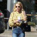 Emma Roberts at the Coffee Bean and Tea Leaf in West Hollywood 10/19/ 2016 - 454 x 633