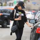Sarah Hyland – Leaving Dogpound gym in West Hollywood