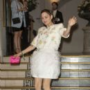 Marion Cotillard – Arrives at Vogue Party in Paris - 454 x 681