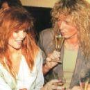 David Coverdale and Tawny Kitaen