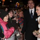 """Hilary Swank - Arrives For The Premiere Of The Film """"PS. I Love You"""" In Ireland, 19.12.2007."""