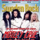Nikki Sixx, Mick Mars, Vince Neil, Tommy Lee - Sweden Rock Magazine Cover [Sweden] (June 2015)