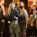 Dylan Sprouse and Barbara Palvin with KJ Apa and Stella Maxwell – Night out in Silverlake