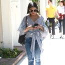 Vanessa Hudgens at Alfred's Cafe in Studio City - 454 x 681