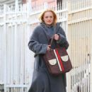 Elisabeth Moss – Filming 'The Kitchen' in New York - 454 x 675