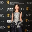 Actress Crystal Reed attends the BAFTA LA TV Tea 2013 presented by BBC America and Audi held at the SLS Hotel on September 21, 2013 in Beverly Hills, California