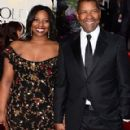 Denzel Washington and Pauletta Washington - 290 x 580
