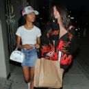 Skai Jackson – Night out with a friend at Catch in West Hollywood