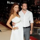 "Una Healy At ""Twilight Saga: Breaking Dawn Pt. 1"" Premiere With partner Ben Foden"