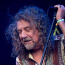 Robert Plant performs on the Pyramid Stage during day 2 of the Glastonbury Festival at Worthy Farm on June 28, 2014 in Glastonbury, England
