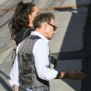 David Lee Roth is seen at 'Jimmy Kimmel Live' in Los Angeles, California