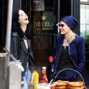 Krysten Ritter and Rachael Taylor – Filming 'Jessica Jones' set in Manhattan - 454 x 532