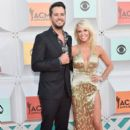 Luke Bryan and Caroline Boyer: 51st Academy of Country Music Awards - Arrivals