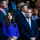 The Duke and Duchess of Cambridge Attend IRB Rugby World Cup 2015