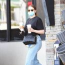 Emma Stone – Steps out for a morning coffee in Pacific Palisades