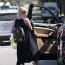 Emma Roberts out for lunch in Beverly Hills