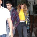 Gigi Hadid & Zayn Malik Out And About In NYC -July 6, 2016 - 395 x 593