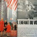 Sylvie Vartan - Jours de France Magazine Pictorial [France] (6 March 1965) - 454 x 317