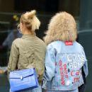 Toni Garrn and Alina Baikova out in New York - 454 x 515