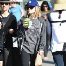 Genevieve Hannelius at Farmers Market in Studio City - 454 x 782