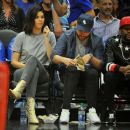 Kendall Jenner–Los Angeles Clippers and the Philadelphia 76ers Game in LA - 454 x 380
