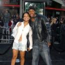 Nick Cannon and Christina Milian the Matrix Reloaded - Premiere - Mann Village Theater, Westwood, CA - May 7, 2003 - 331 x 480