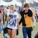 Evan Peters and Pixie Geldof