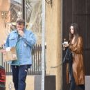 Emily Ratajkowski and Sebastian Bear-McClard – Shopping at Whole Foods Market in LA