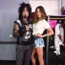 Courtney Bingham & Nikki Sixx