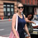 Leelee Sobieski - Out And About In New York - August 3, 2010