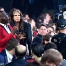 Randy Jackson and recording artist Steven Tyler attend the 18th Annual Hollywood Film Awards at The Palladium on November 14, 2014 in Hollywood, California