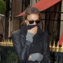 Irina Shayk: goes for a walk in Paris