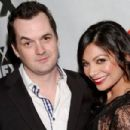 Ginger Gonzaga and Jim Jefferies